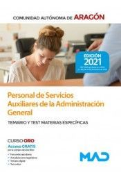PERSONAL DE SERVICIOS AUXILIARES ADMINISTRACIÓN GENERAL