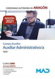 CUERPO AUXILIAR ADMINISTRATIVO DGA TEST