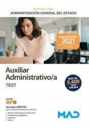 TEMARIO AUXILIAR ADMINISTRATIVO/A TEST
