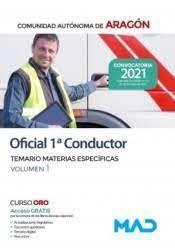 TEMARIO OFICIAL 1º CONDUCTOR ARAGON