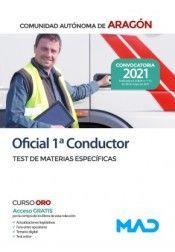 TEMARIO OFICIAL 1º CONDUCTOR ( ARAGON )  TEST