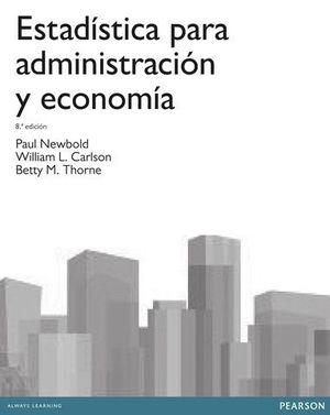 ESTADISTICA PARA ADMINISTRACION Y ECONOMIA 8ª ED. 2013