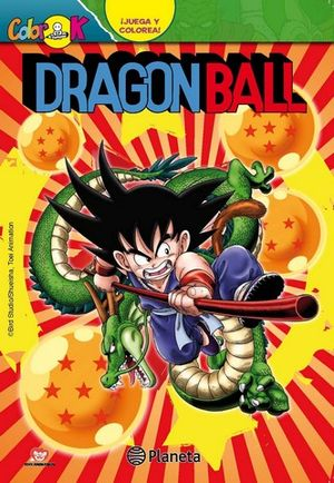 DRAGON BALL ¡ JUEGA Y COLOREA !