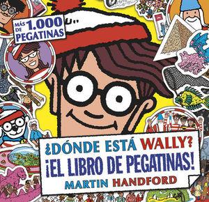 ¿DONDE ESTA WALLY? LIBRO DE PEGATINAS