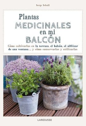 PLANTAS MEDICINALES EN MI BALCON