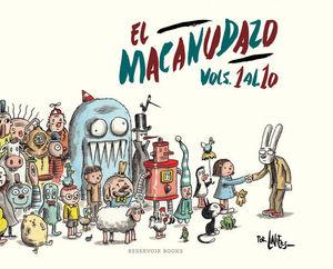 EL MACANUDAZO.  VOLUMENES DEL 1 AL 10