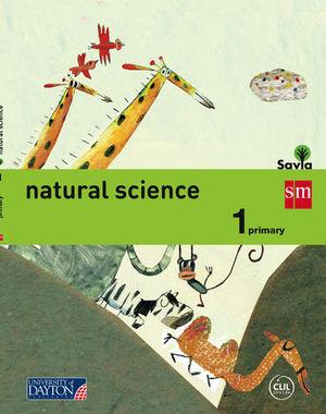 NATURAL SCIENCE 1º EP SAVIA ED. 2015