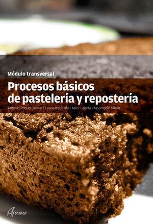 PRODUCTOS BASICOS DE PASTELERIA Y REPOSTERIA ED. 2016