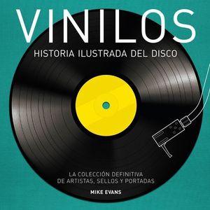VINILOS HISTORIA ILUSTRADA DEL DISCO