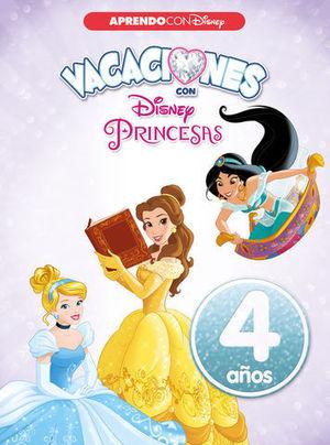 PRINCESAS DISNEY VACACIONES 4 AÑOS