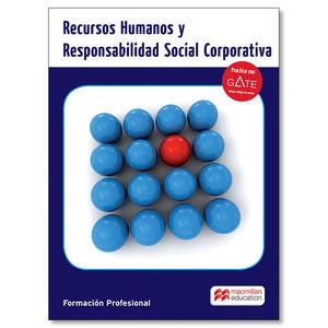 RECURSOS HUMANOS Y RESPONSABILIDAD SOCIAL CORPORATIVA ED. 2016