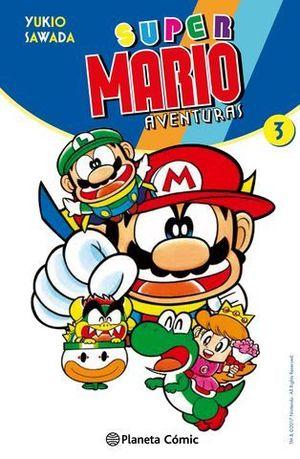 SUPER MARIO AVENTURAS Nº 3