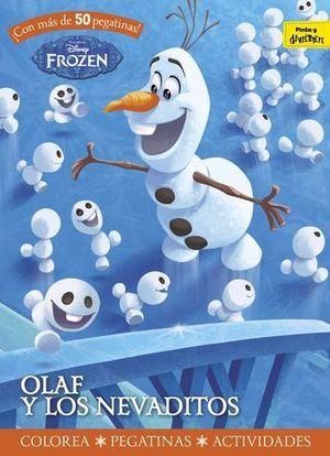 FROZEN. OLAF Y LOS NEVADITOS. ACTIVIDADES PEGATINAS