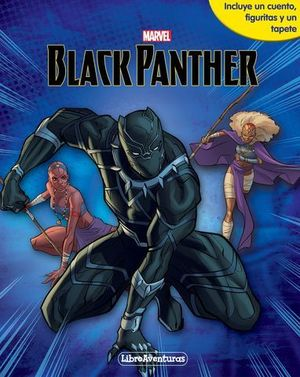 BLACK PANTHER.  LIBRO JUEGO