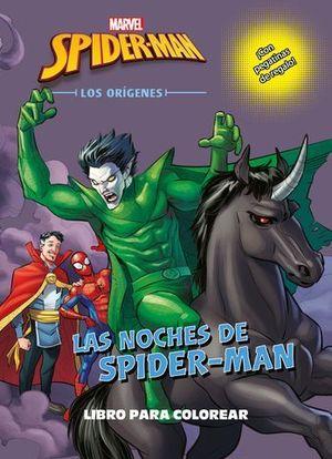 SPIDER-MAN. LOS ORIGENES. LIBRO PARA COLOREAR