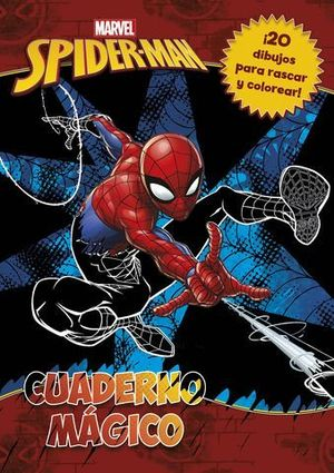 SPIDER - MAN.  CUADERNO MAGICO