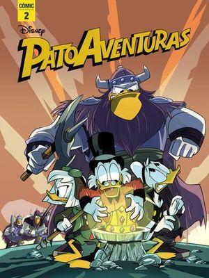 PATOAVENTURAS.  COMIC 2