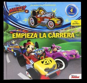 MICKEY Y LOS SUPERPILOTOS EMPIEZA LA CARRERA