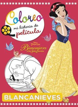 BLANCANIEVES.  COLOREO MI HISTORIA DE PELICULA