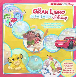 EL GRAN LIBRO DE JUEGOS EDUCATIVOS DISNEY