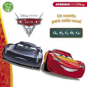 CARS 3. UN CUENTO PARA VOCAL: A, E, I, O, U