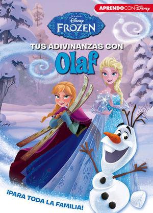 FROZEN.  TUS ADIVINANZAS CON OLAF ¡PARA TODA LA FAMILIA!