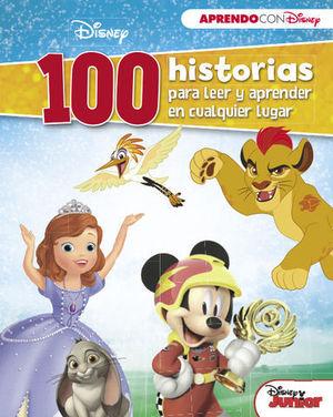 100 HISTORIAS DISNEY PARA LEER Y APRENDER EN CUALQUIER LUGAR