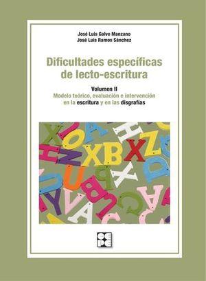 DIFICULTADES ESPECIFICAS DE LECTO-ESCRITURA VOLUMEN II