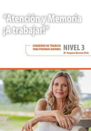 ATENCION Y MEMORIA.  A TRABAJAR NIVEL 3