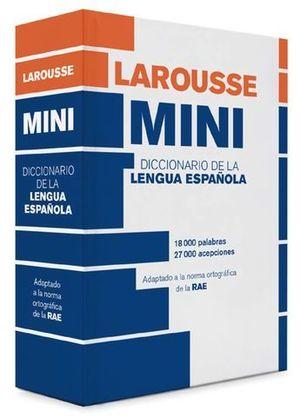 DICCIONARIO MINI LENGUA ESPAÑOLA LAROUSSE