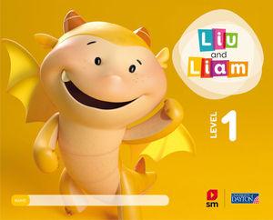 LIU AND LIAM 3 AÑOS  SAVIA  ED. 2018