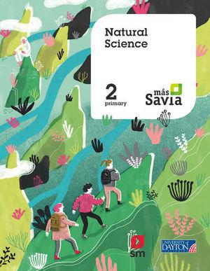 NATURAL SCIENCE 2º EP MAS SAVIA  ED. 2018