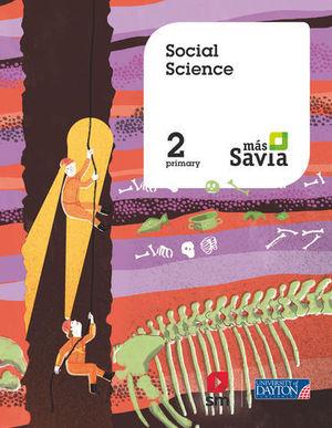 SOCIAL SCIENCE 2º EP  MAS SAVIA  ED. 2018