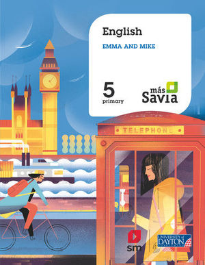 ENGLISH FOR PLURILINGUAL SCHOOLS 5º EP MAS SAVIA  ED. 2018