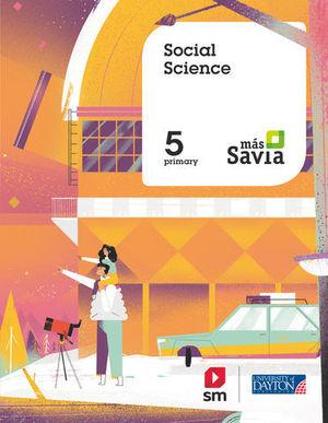 SOCIAL SCIENCE 5º EP MAS SAVIA  ED. 2018