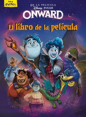ONWARD.  EL LIBRO DE LA PELICULA