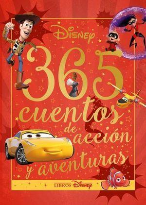 DISNEY. 365 CUENTOS DE ACCIÓN Y AVENTURAS.