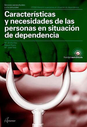 CARACTERISTICAS NECESIDADES DE PERSONAS EN SITUACION DEPENDIENTE 2018