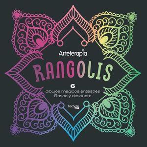 RANGOLIS.  6 DIBUJOS MAGICOS