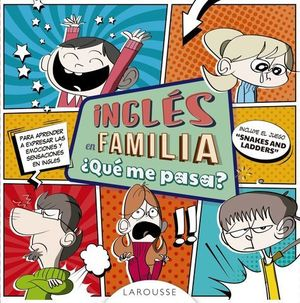 INGLÉS EN FAMILIA ¿QUÉ ME PASA?.