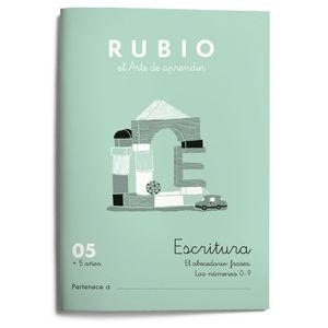 CUADERNILLO RUBIO ESCRITURA Nº 05. 2021