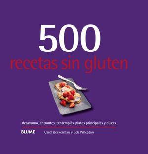 500 RECESTAS SIN GLUTEN