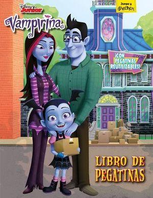 VAMPIRINA LIBRO DE PEGATINAS
