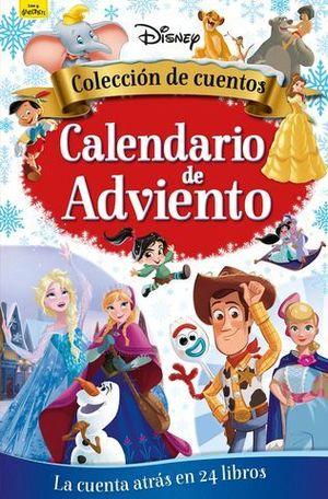 DYSNEY CALENDARIO DE ADVIENTO . COLECCION DE CUENTOS