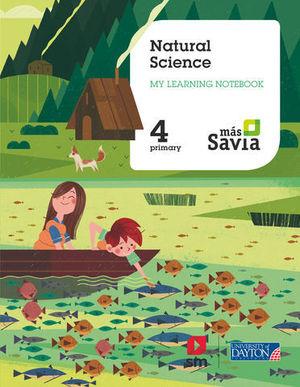 NATURAL SCIENCE 4º EP WORKBOOK MAS SAVIA ED. 2019
