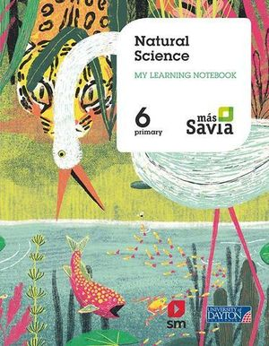 NATURAL SCIENCE 6º EP WORKBOOK MAS SAVIA ED. 2019