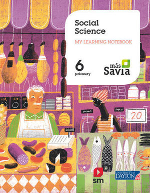 SOCIAL SCIENCE 6º EP WORKBOOK MAS SAVIA ED. 2019