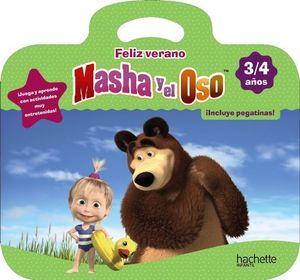 CUADERNO VACACIONES MASHA Y EL OSO 3 AÑOS  ED. 2019
