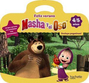 CUADERNO VACACIONES MASHA Y EL OSO 4 AÑOS  ED. 2019