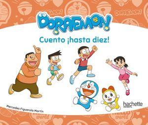 VACACIONES DORAEMON.  CUENTO ¡ HASTA DIEZ !   ED. 2019